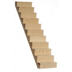 Staircase W/treads/10inc
