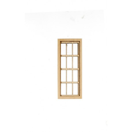 6 over 6 narrow window dollhouse windows superior for Narrow windows for sale