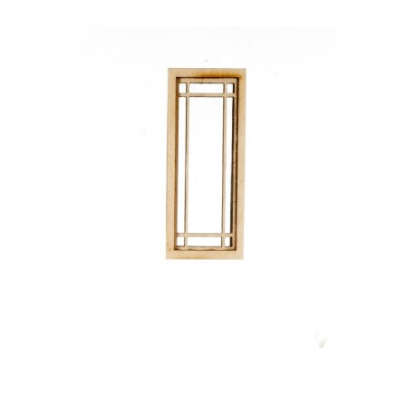 Prairie narrow window dollhouse windows superior for Narrow windows for sale