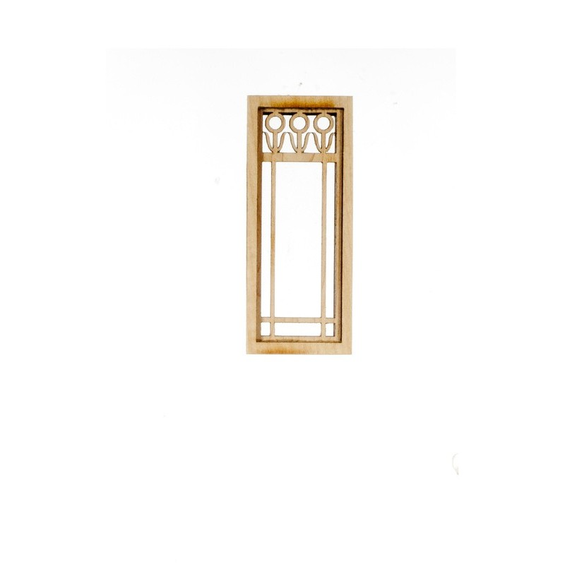 Flower narrow window dollhouse windows superior for Narrow windows for sale