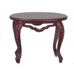 Fancy Vict.oval Table/mah