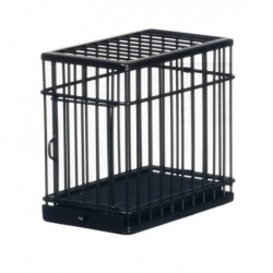 Small Dog Cage/black/cb