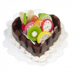 Heart Shaped Choc.cake