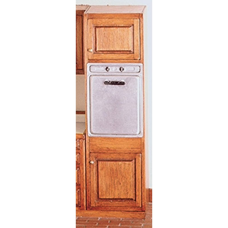 Oven cabinet kit dollhouse kitchen cabinets superior for Kitchen cabinets kits