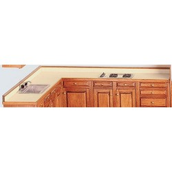 White Countertop/trim Kit