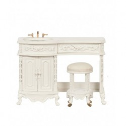 Avalon Sink W/stool/white