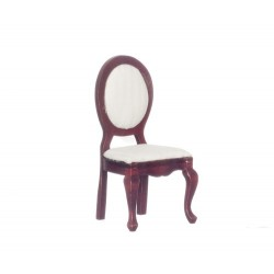 Side Chair/ivory Stripe