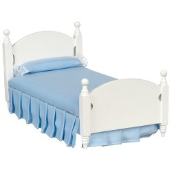 Single Bed/white