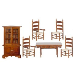 Dining Room Set 6 Wal Cs