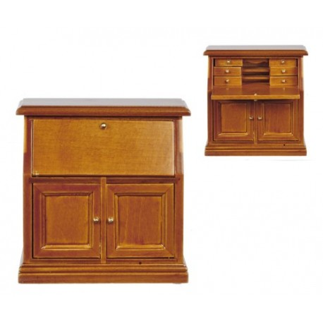desk walnut dollhouse office desks superior dollhouse