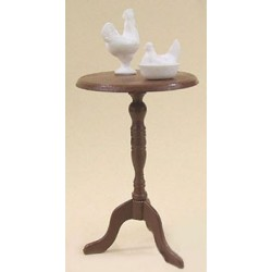 CANDLESTICK TABLE & FIGURES