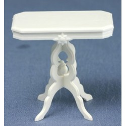 VICTORIAN TABLE, WHITE, 5 KITS/BAG