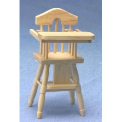 &AZG9842N: HIGH CHAIR, OAK