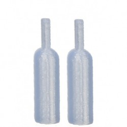 Wine Bottles/2/light Blue