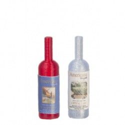 Americana Wine Bottle Set
