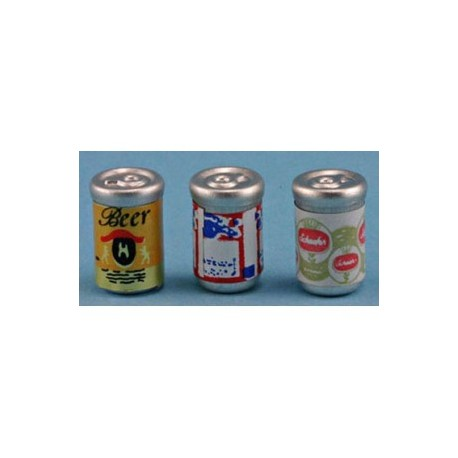 Beer Cans 3pc