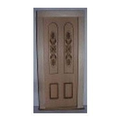 Engraved Panel Door