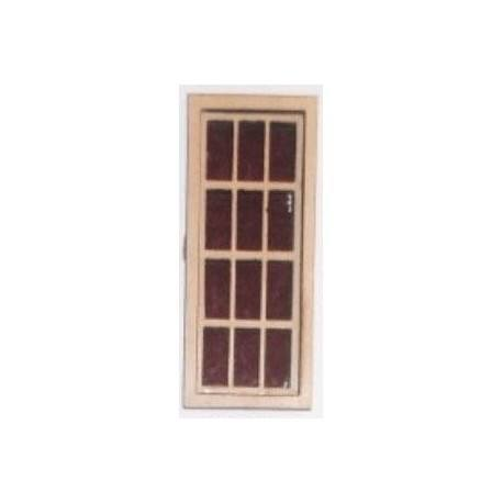 6 over 6 narrow window miniature windows dollhouse