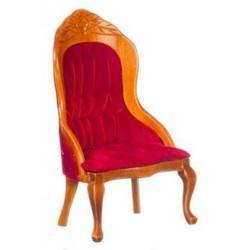 Victorian Gent's Chair, Red