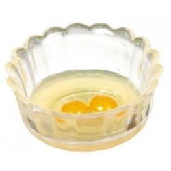 Bowl With Raw Eggs