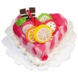 Heart Shaped Fruit Cake
