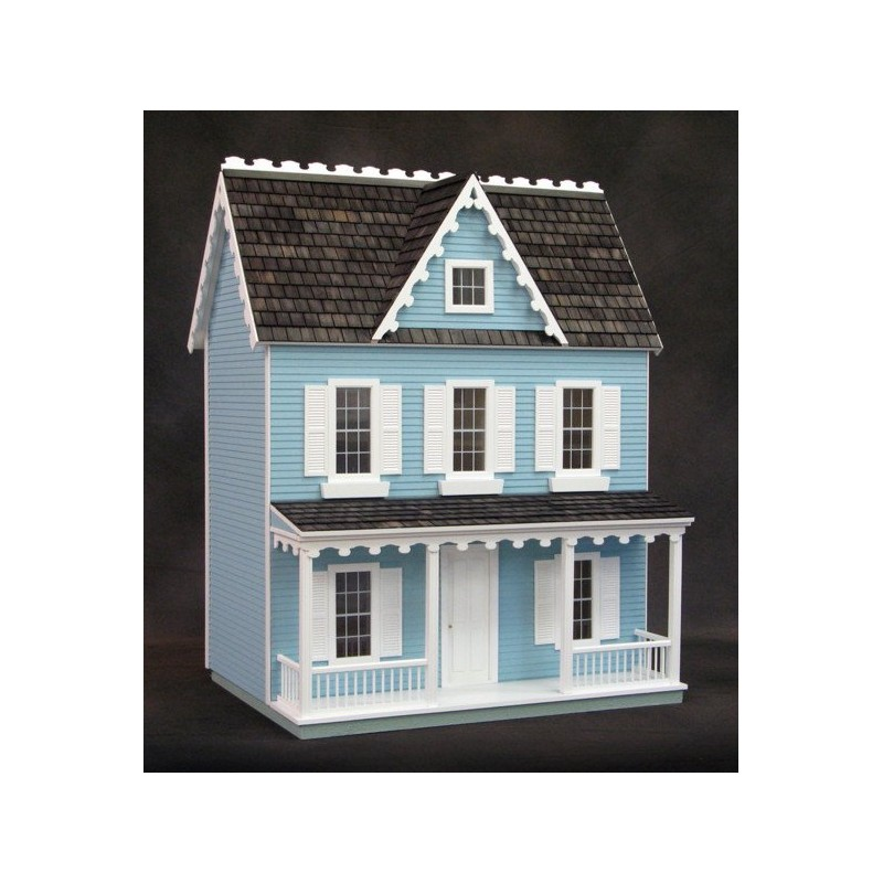 Vermont Farmhouse Finished Blue Milled Mdf