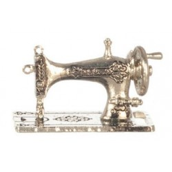 Silver Sewing Machine