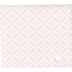 3 Pack Wallpaper Pink Whte Daimond/Circl