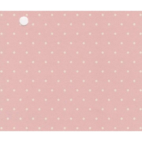 3 Pack Wallpaper White Polka Dots On Pink