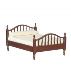 Walnut Double Bed