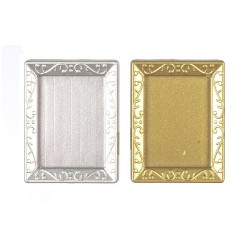Gold & Silver Rectangle Frames With Glass