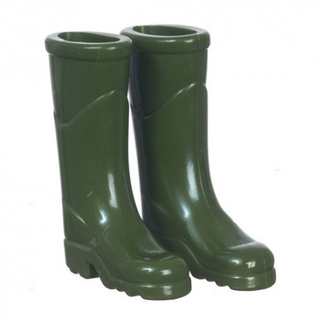 Green Outdoor Boots