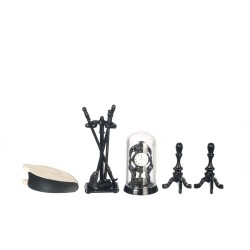 Black Fireplace Accessories