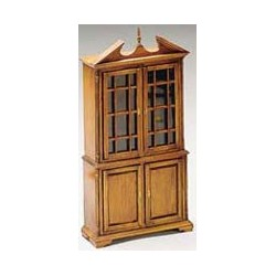 Unfinished Dining Room Hutch Kit - Unassembled