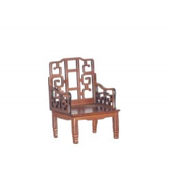 Walnut Beijing Chinese Armchair