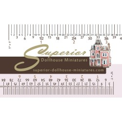 Wallet Size 3 Scale Pocket Ruler Cheat Sheet