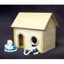 Mouse House, Milled Plywood