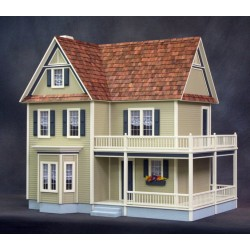 Victoria's 2 Story Farmhouse Kit, Milled Mdf