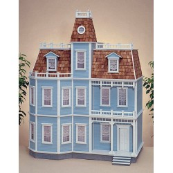 Newport Dollhouse Kit, Milled Mdf