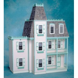 Front Opening Alison Junior Dollhouse Kit, Milled MDF