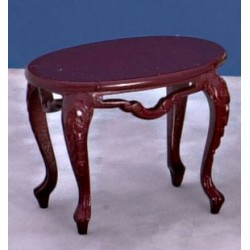 Victorian Oval Mahogany Table
