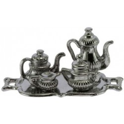 Silver Plated Tea Set/5