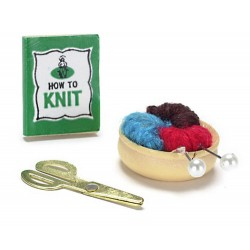 KNITTING KIT, 3/PC
