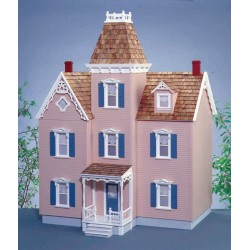 Dollhouse minis dollhouse kits additions blueprints for Victorian style kit homes