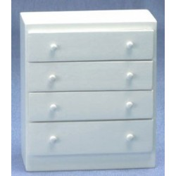 Simple White Chest Of Drawers