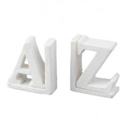 Resin A-z Bookends