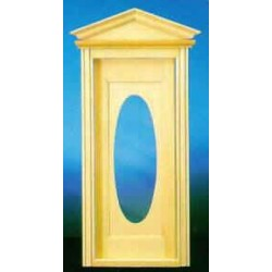 &HW6002: VICTORIAN OVAL DOOR W/WINDOW