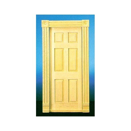 DOLLHOUSE TRAD 6-PANEL INTERIOR DOOR