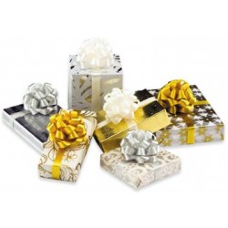 Gold/Silver Christmas Gifts, 6pc