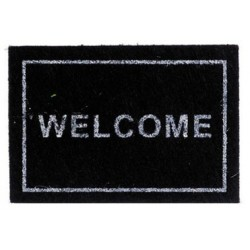 Welcome Mat, Black